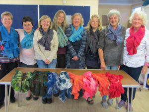 Jennie Loader Wavy Scarves Workshop